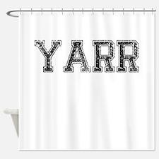 YARR, Vintage Shower Curtain