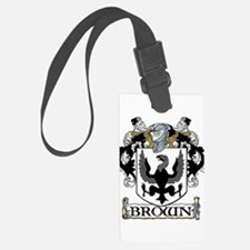 Brown Coat of Arms Luggage Tag