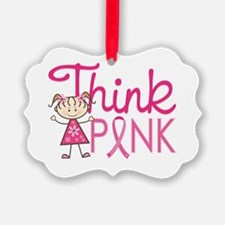 Think Pink Ornament