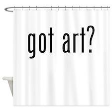 Got Art? Shower Curtain