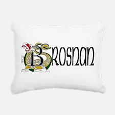 Brosnan Celtic Dragon Rectangular Canvas Pillow