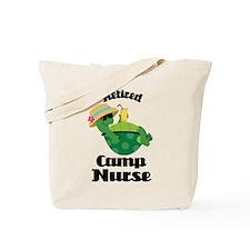 Retired Camp Nurse Gift Tote Bag