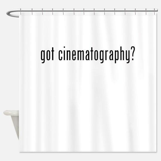 Got Cinematography? Shower Curtain