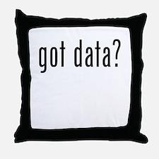 Got Data? Throw Pillow