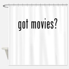 Got Movies? Shower Curtain