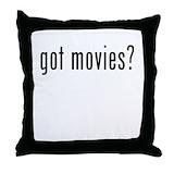 Movies Throw Pillows