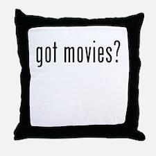 Got Movies? Throw Pillow