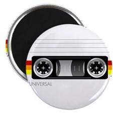 Cassette tape label 2 Magnet