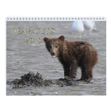 2015 Bear Cubs Wall Calendar