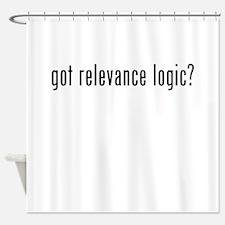 Got Relevance Logic? Shower Curtain