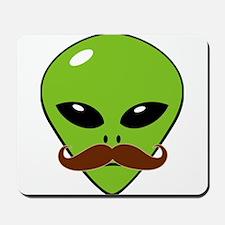 Alien Moustache Mousepad