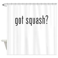 Got Squash? Shower Curtain