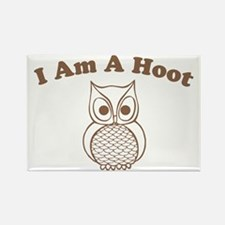 I Am A Hoot Rectangle Magnet
