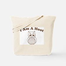 I Am A Hoot Tote Bag