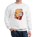 Lenin wearing heaphones Sweatshirt