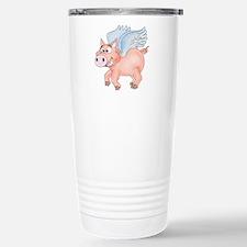 flying Pig 2 Travel Mug