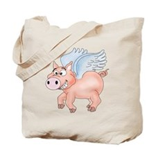 flying Pig 2 Tote Bag