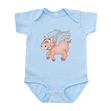 flying Pig 2 Infant Bodysuit
