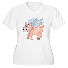 flying Pig 2 T-Shirt