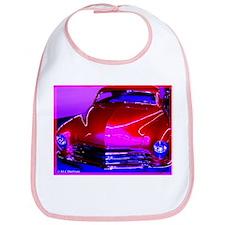 Bright, Red, Classic car, Bib