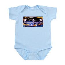 Mercury, Classic Car, Fun, Infant Bodysuit