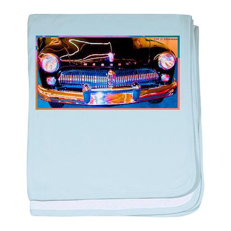 Mercury, Classic Car, Fun, baby blanket