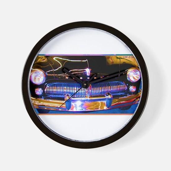 Mercury, Classic Car, Fun, Wall Clock