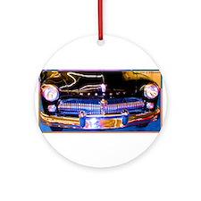 Mercury, Classic Car, Fun, Ornament (Round)