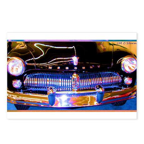 Mercury, Classic Car, Fun, Postcards (Package of 8