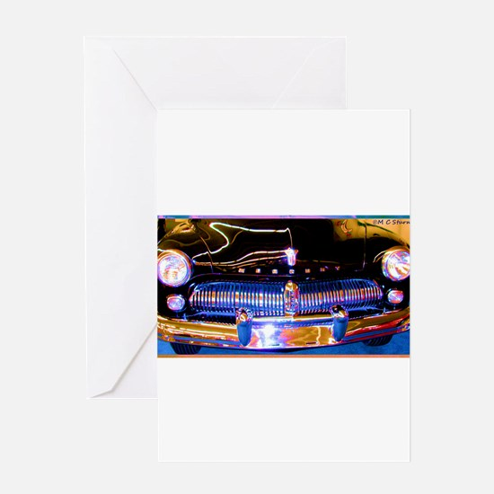 Mercury, Classic Car, Fun, Greeting Card