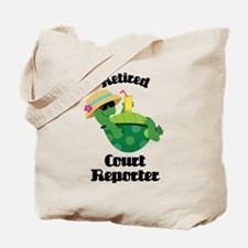 Retired Court Reporter Gift Tote Bag