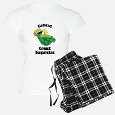 Retired Court Reporter Gift Pajamas