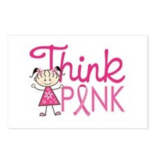 Think Pink Postcards (Package of 8)