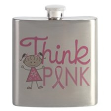 Think Pink Flask
