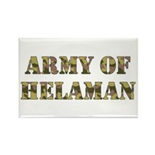 Army of Helaman (camo) Rectangle Magnet