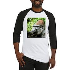 Earnie Silverback gorilla looking forward Baseball