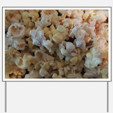Popcorn Photograph Yard Sign