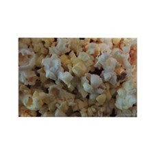 Popcorn Photograph Rectangle Magnet