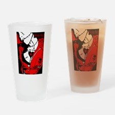 Stitched up Drinking Glass