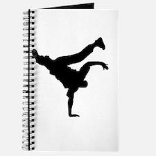 BBOY silhouette blk Journal