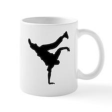 BBOY silhouette blk Mug