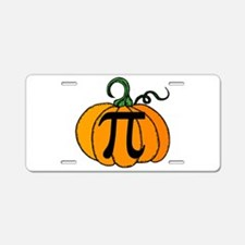 Pumpkin Pi Aluminum License Plate