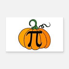 Pumpkin Pi Rectangle Car Magnet