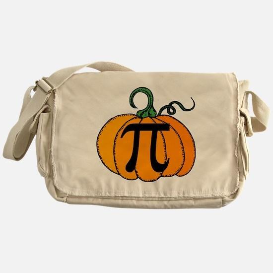Pumpkin Pi Messenger Bag