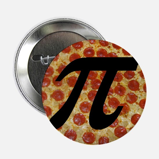 """Pizza Pi 2.25"""" Button (10 pack)"""