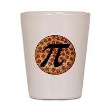 Pizza Pi Shot Glass