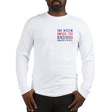 One Nation Under God Radio Long Sleeve T-Shirt
