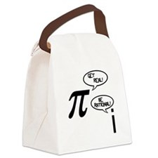 Get Real Canvas Lunch Bag