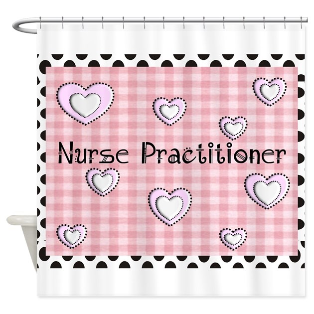 Nurse Practitioner Shower Curtain By Nurseii