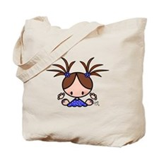 Talula Girl Tote Bag